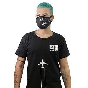 Kit Camiseta + Máscara Contrail