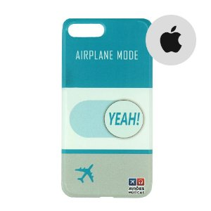 Capa para Smartphone Airplane Mode Yeah! - Apple