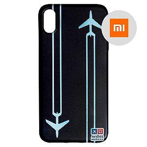 Capa para Smartphone Contrail - Xiaomi - Aviões e Músicas