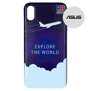 Capa para Smartphone Explore The World - Asus - Aviões e Músicas