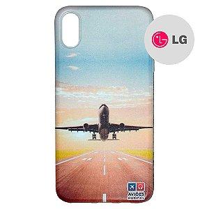 Capa para Smartphone Decolagem - LG Aviões e Músicas