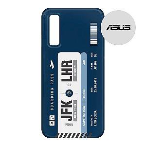 Capa para Smartphone Boarding Pass Personalizável Azul - Asus