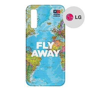 Capa para Smartphone Fly Away - LG Aviões e Músicas