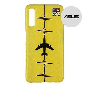 Capa para Smartphone Yellow - Asus - Aviões e Músicas