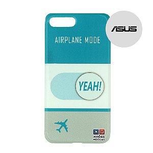 Capa para Smartphone Airplane Mode Yeah! - Asus - Aviões e Músicas