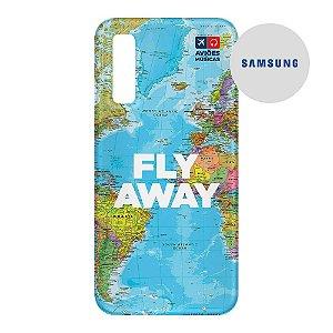 Capa para Smartphone Fly Away - Samsung - Aviões e Músicas