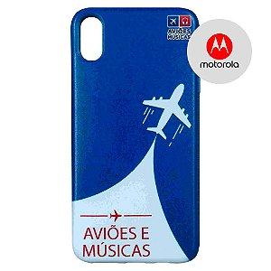 Capa para Smartphone Aviões e Músicas - Motorola