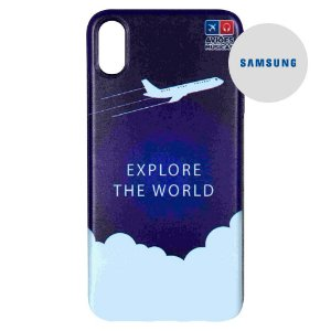 Capa para Smartphone Explore The World - Samsung