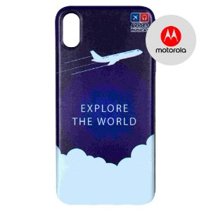 Capa para Smartphone Explore The World - Motorola