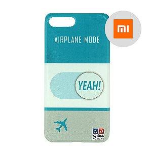 Capa para Smartphone Airplane Mode Yeah! - Xiaomi - Aviões e Músicas