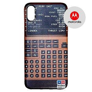 Capa para Smartphone FMC 1 - Motorola - Aviões e Músicas