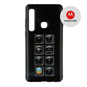 Capa para Smartphone Instrumentos - Motorola - Aviões e Músicas