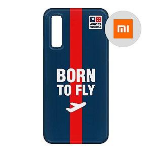 Capa para Smartphone Born To Fly - Xiaomi - Aviões e Músicas