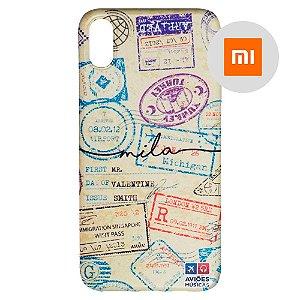 Capa para Smartphone Passaporte Carimbado 1 Personalizável - Xiaomi