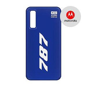 Capa para Smartphone 787 - Motorola - Aviões e Músicas