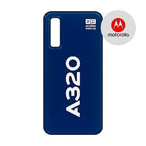 Capa para Smartphone A320 - Motorola - Aviões e Músicas