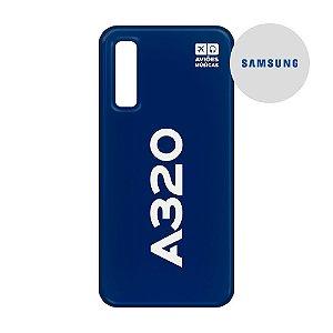Capa para Smartphone A320 - Samsung - Aviões e Músicas