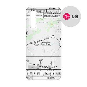 Capa para Smartphone Carta de voo 2 - LG Aviões e Músicas