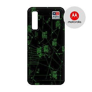 Capa para Smartphone Radar 2 - Motorola - Aviões e Músicas
