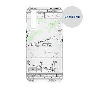 Capa para Smartphone Carta de voo 2 - Samsung - Aviões e Músicas
