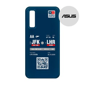 Capa para Smartphone Boarding Pass Personalizável Retro - Asus