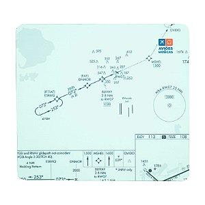 Mouse Pad Carta de voo