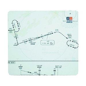 Mouse Pad Carta de voo 2