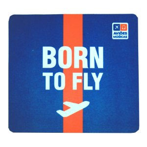 Mouse Pad Born To Fly