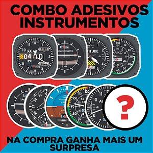 Kit Adesivos Instrumentos + Brinde