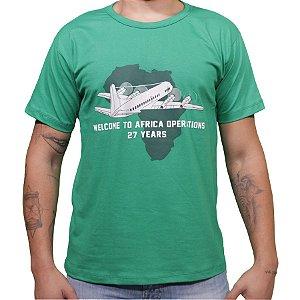 Camiseta Africa Operations - Aviões e Músicas