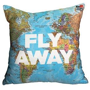 Almofada Fly Away Aviões e Músicas