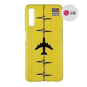 Capa para Smartphone Yellow - LG Aviões e Músicas