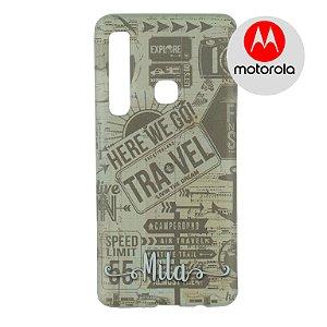 Capa para Smartphone Here We Go - Motorola - Aviões e Músicas