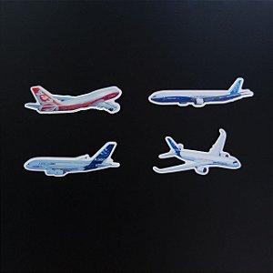 Ímã Kit de Aviões - Aviões e Músicas