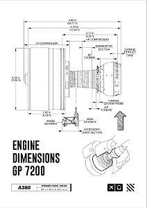Pôster Motor Turbo Fan 2 Aviões e Músicas Sem Moldura