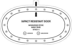 Adesivo Porta Resistente Ao Impacto - Aviões e Músicas