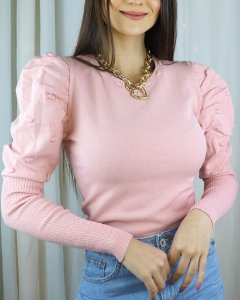 Tricot Modal Princesa - Rosa