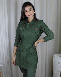 Jaqueta Parka - verde militar