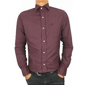 Camisa Social Tricoline Regular Fit-  Vilejack