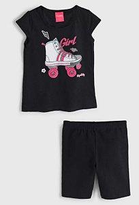 Conjunto Blusa e Shorts  Feminino Kely & Kety