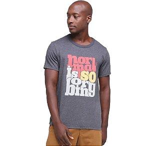 Camiseta  Estampada Masculina Hering