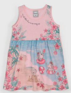 Vestido Infantil Praia  Kely  Kety