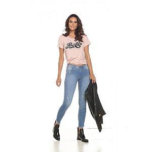 Calça Jeans Skinny Staroup Média Alta Azul