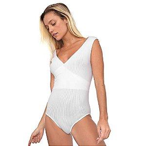 Body Trifil Transpassado Branco