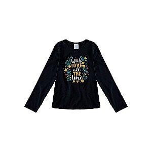 Blusa Infantil Feminina Inverno 1000064554 Estampada Malwee