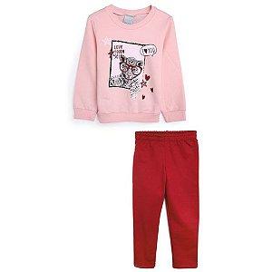 Conjunto Infantil Feminino Inverno 1000064506 Malwee Kids
