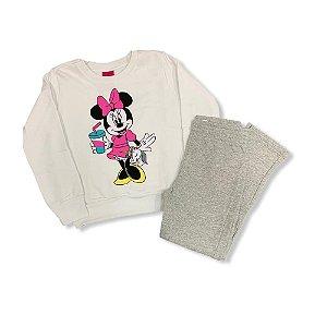 Conjunto Infantil Feminino Longo P90127 Disney