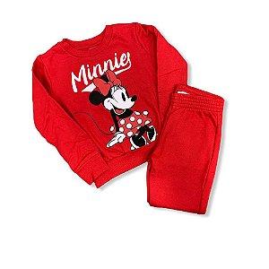 Conjunto Infantil Feminino de Moletom P90126 Disney