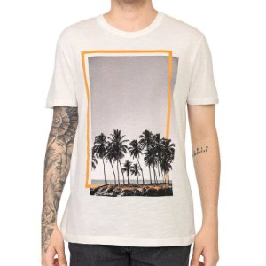 Camiseta Marculina Estampada 4EEZ Hering