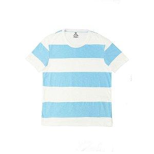 Camiseta Masculina Flamê Manga Curta Listrada 4EUX Hering